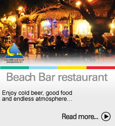 To the Beach Bar restaurant page